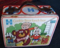 Cookie Bear Lunch Tin