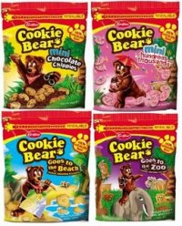 Cookie Bear Cookie Packets